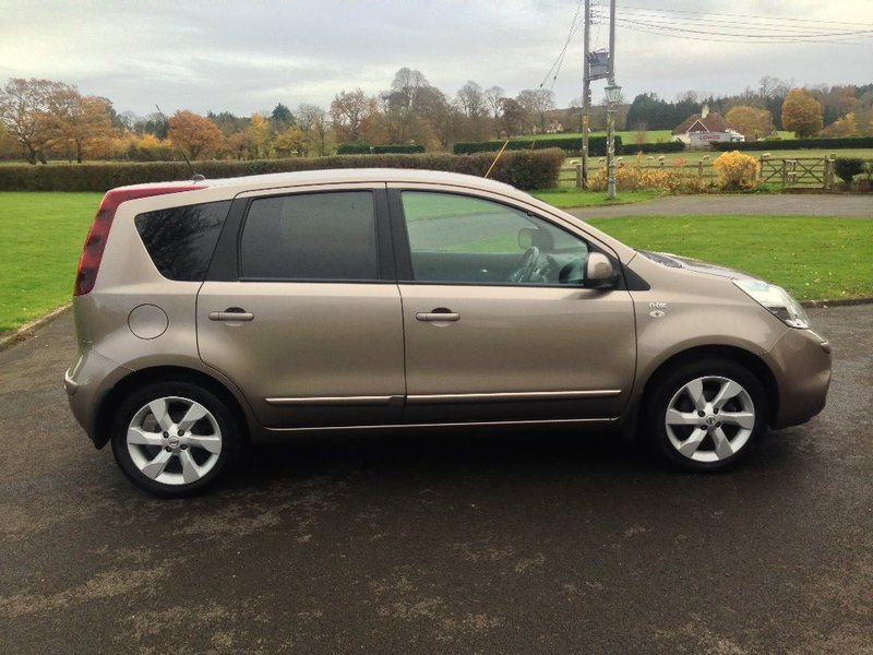 View NISSAN NOTE 1.4 N-TEC