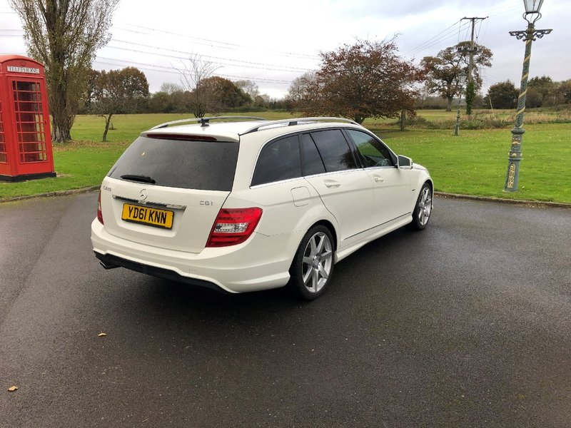 View MERCEDES C CLASS C220 CDI BlueEFFICIENCY Sport Edition Edition 125 G-Tronic 5dr
