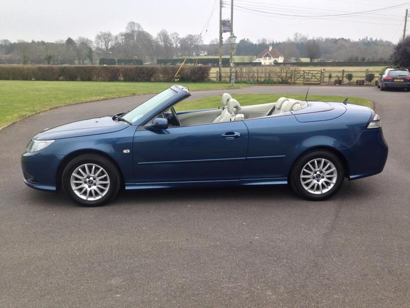 View SAAB 9-3 1.9 Tid Linear Convertible