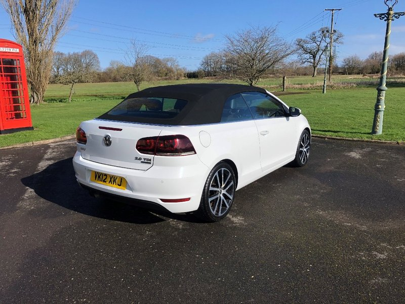 View VOLKSWAGEN GOLF 2.0 TDI BlueMotion Tech GT Cabriolet 2dr
