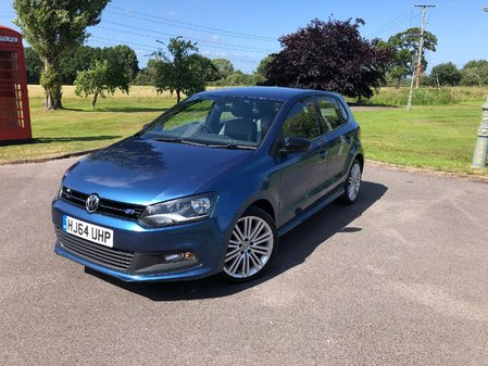 VOLKSWAGEN POLO  1.4 TSI BlueMotion Tech ACT BlueGT (s/s) 5dr