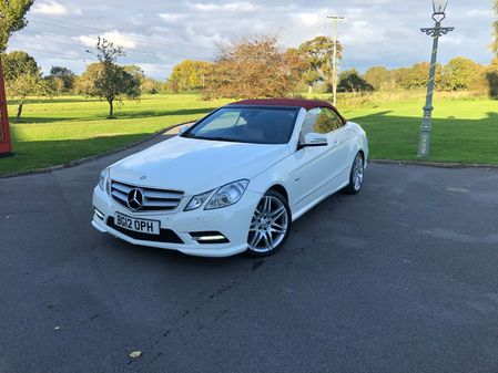 MERCEDES E CLASS E250 CDI BlueEFFICIENCY Sport Cabriolet G-Tronic 2dr