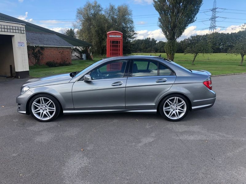 View MERCEDES C CLASS C250 BlueEFFICIENCY AMG Sport Plus 7G-Tronic Plus 4dr (Map Pilot)