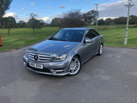 MERCEDES C CLASS C250 BlueEFFICIENCY AMG Sport Plus 7G-Tronic Plus 4dr (Map Pilot)
